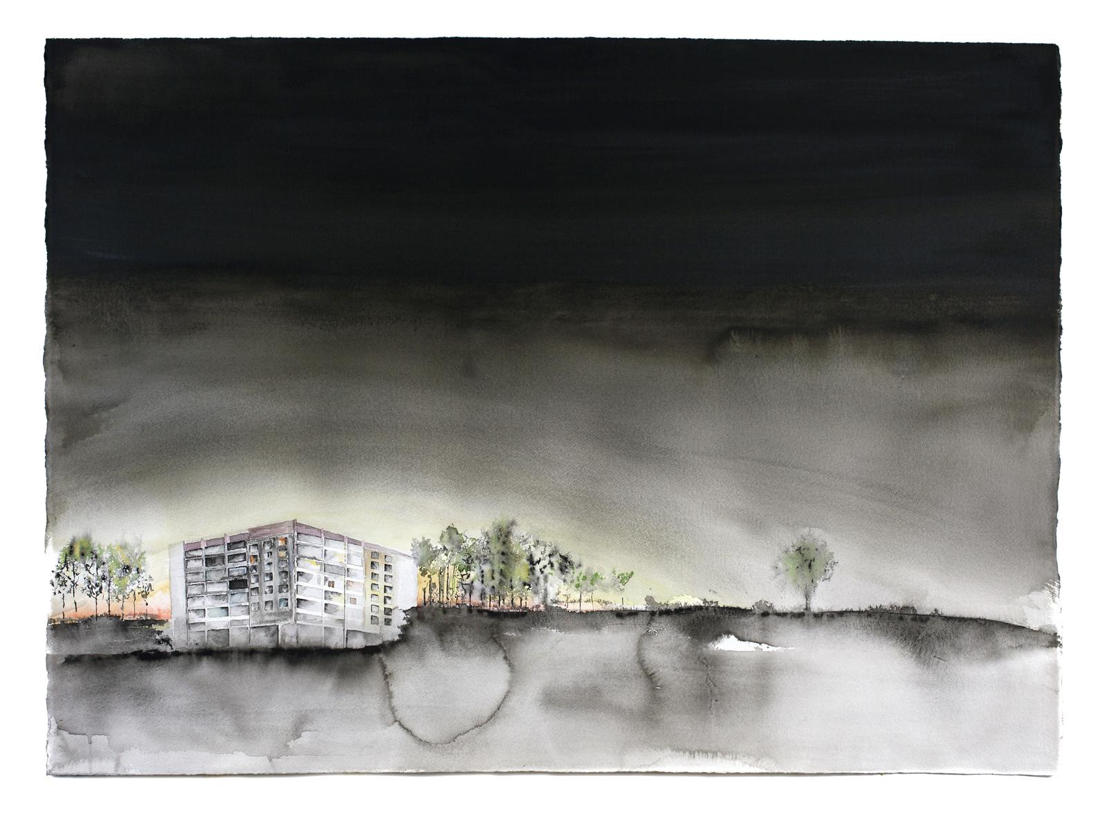 Lägenhetshus Tjernobyl, 2020