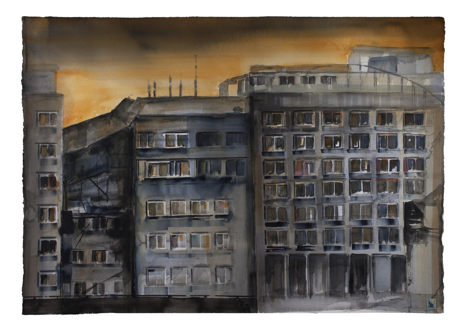 Rasade lägenhetshus, 2020