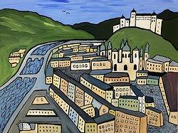 """""""Salzburg"""" av Orsi Mild"""