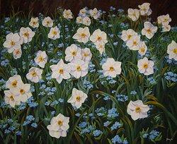 Blomsterprakt i pingsttid