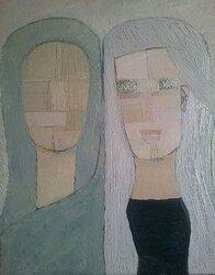 Two women IV