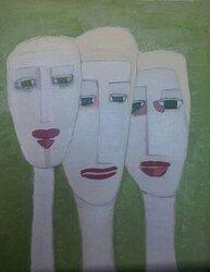 Tre Nymfer/Three nymphs