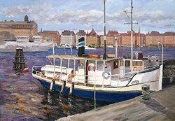 Båt i Stockholm