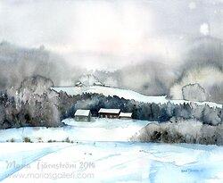 Vinter i Bjärtrå