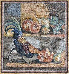 Transposition av en fresk från Pompei
