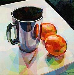 Apelsiner och tillbringare