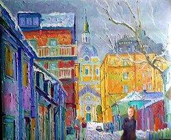 Katarina kyrka vinter
