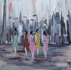 Kvinnor i staden