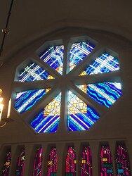 Glasfönster Växjö Domkyrka