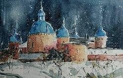 Kalmar Castle - Winter study