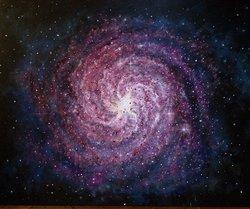 Röd Galax