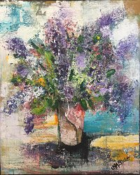 Lilacs for mother