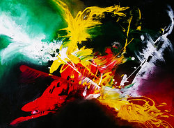 Acrylic Abstract Painting (SOLD)