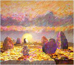 Impression  Digital målning