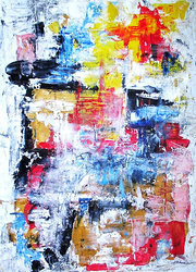 Abstract Acrylic Painting  [SOLD]