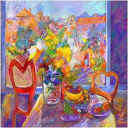 Open window Digital målning