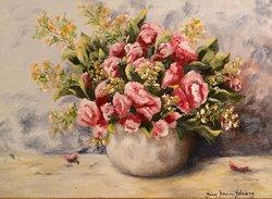 Blommor i kruka