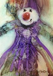 Clownens allvarliga dotter