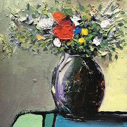 Blomsterfång i krus