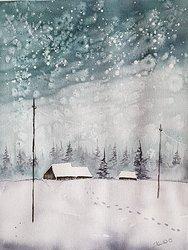 Snöspår