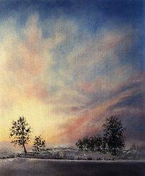 Januarihimmel