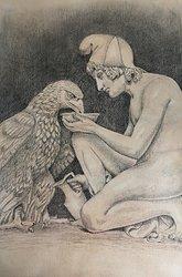 Ganymedes med Jupiters Örn
