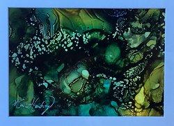 Abstrakt bläck 8