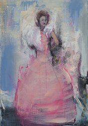 Pink Angel av Karin Holmström