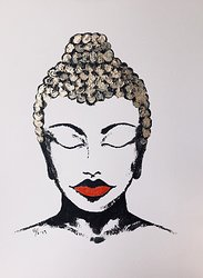Red Lip Buddha