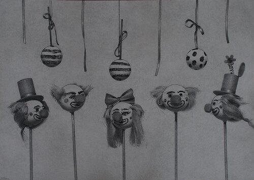 Clowner av Jimmy Lundin