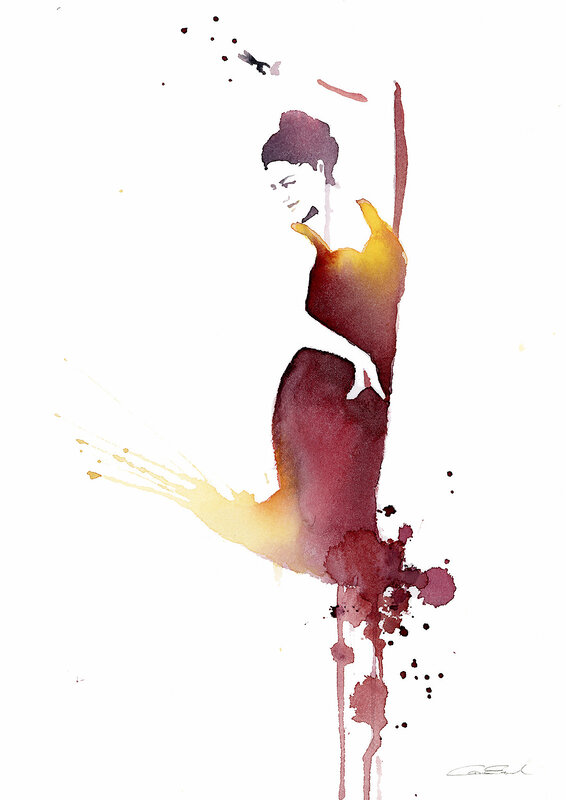 Flamencodansös