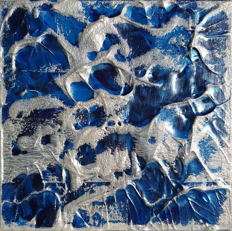 Akrylmålning 162 C, Sandra H