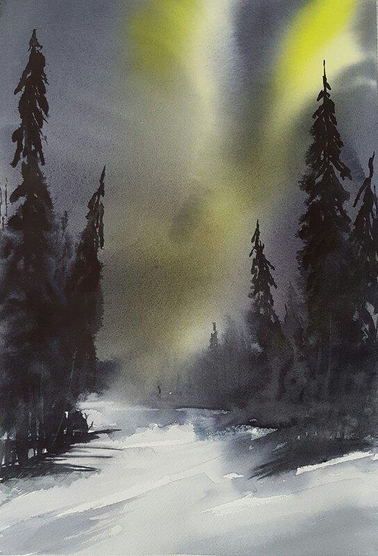 Norrsken i Lappland I
