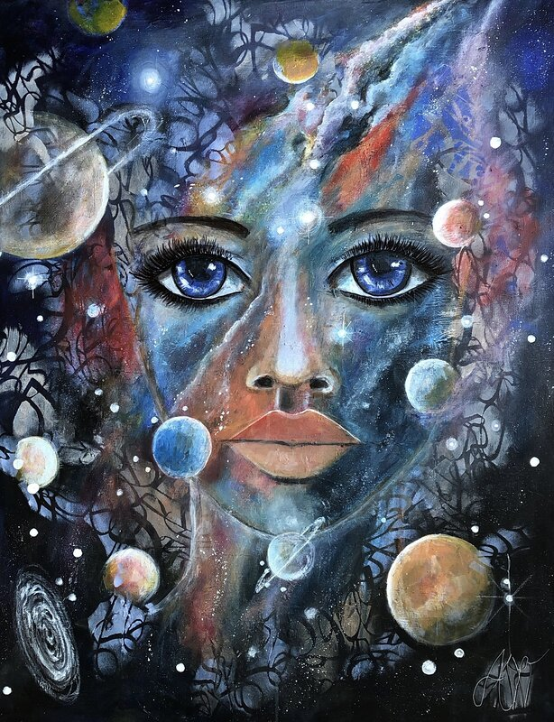 The Mind of the space in universe. Rymdens medvetande.