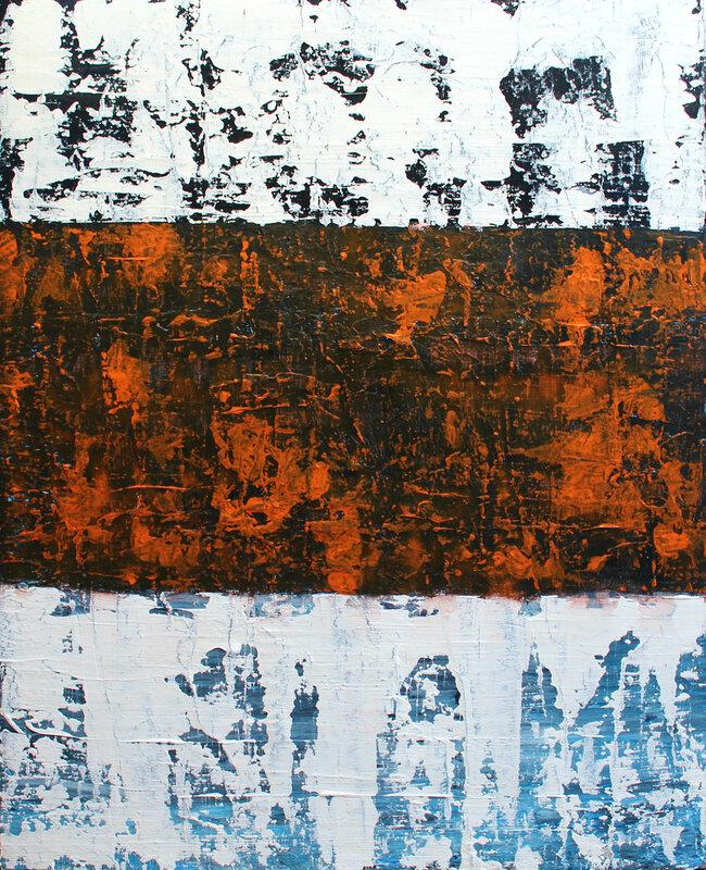 Akrylmålning X 3, Pontus Wåhlström