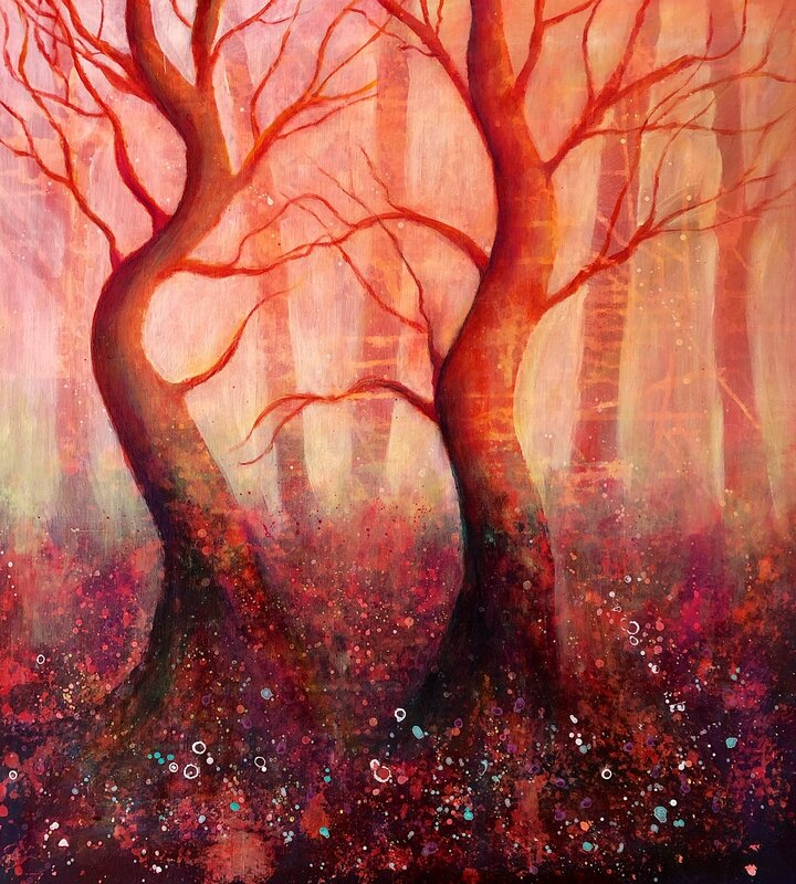 Mystic woodland.