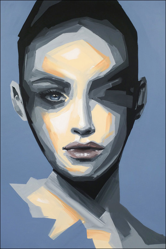 Abstract portrait no.j2019