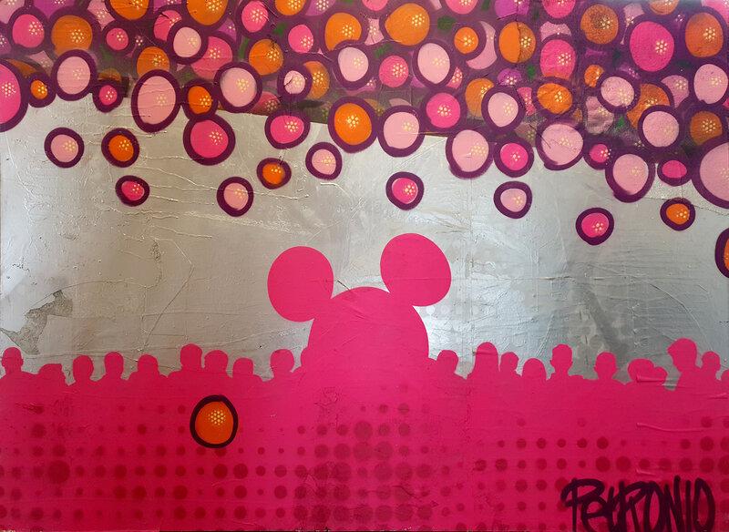 Mickey's Crowd, Shaw Petronio