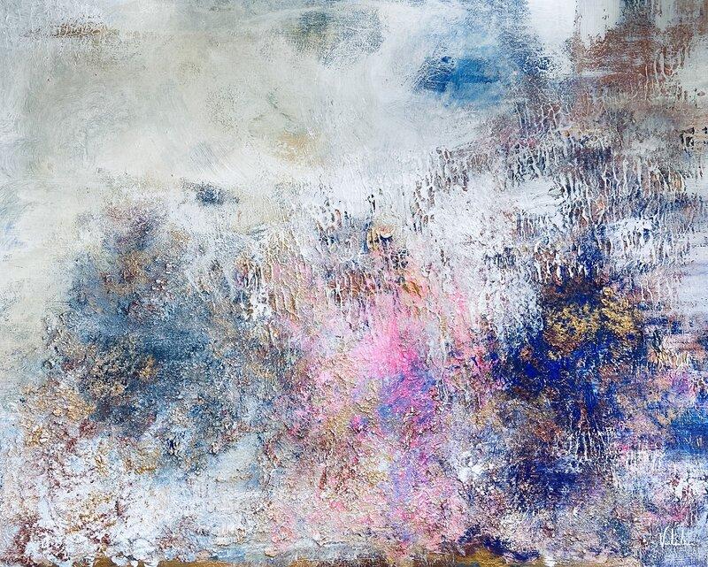 Akrylmålning Långholmen, Valentina Campodonico
