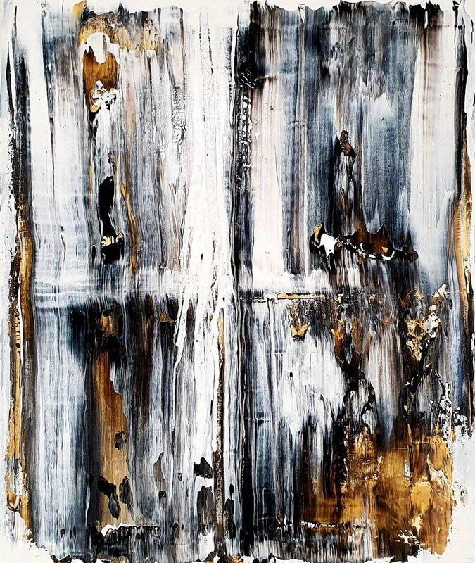 Akrylmålning Gold 3.0, Tobias Staaf