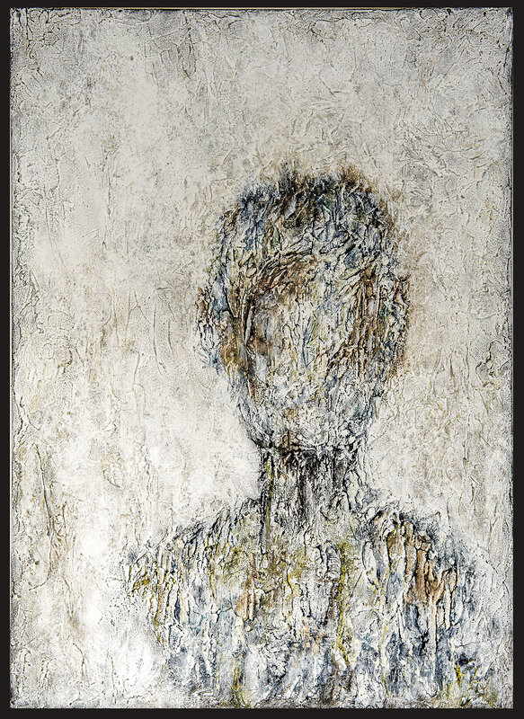 Akrylmålning Wordley, Lena Johnson
