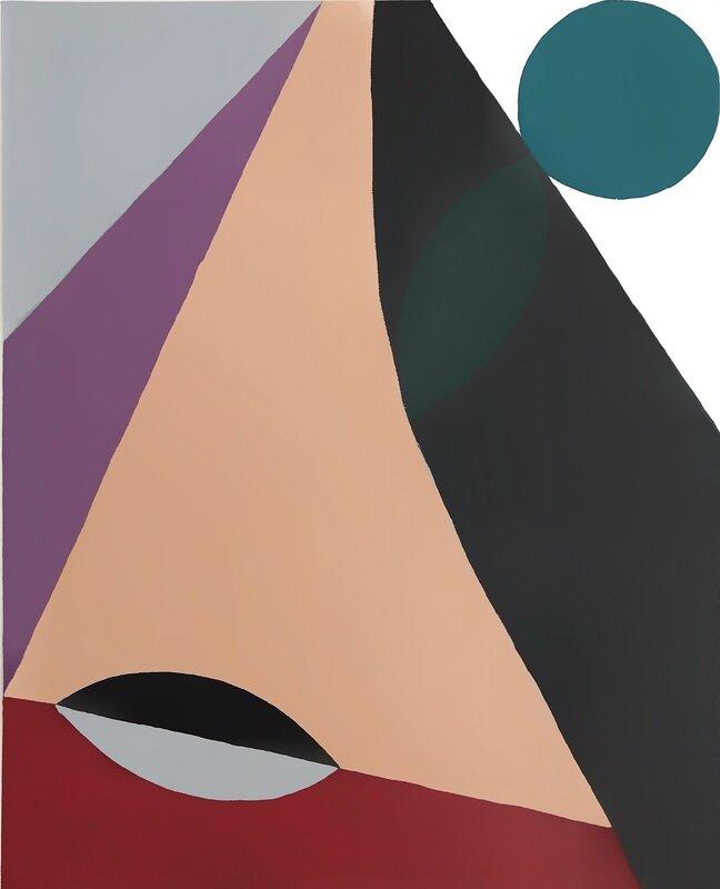 Akrylmålning Broadway, Helena Björkman
