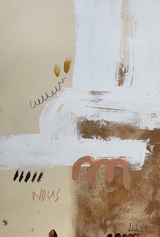 Akrylmålning NOUS, Valentina Campodonico