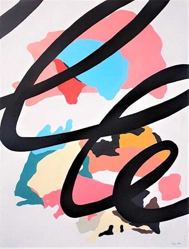 Akrylmålning ..., Marcus Lundgren