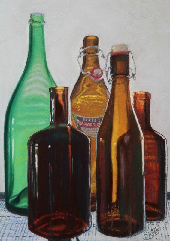 Flaskor i motljus, Yvonne Jensen
