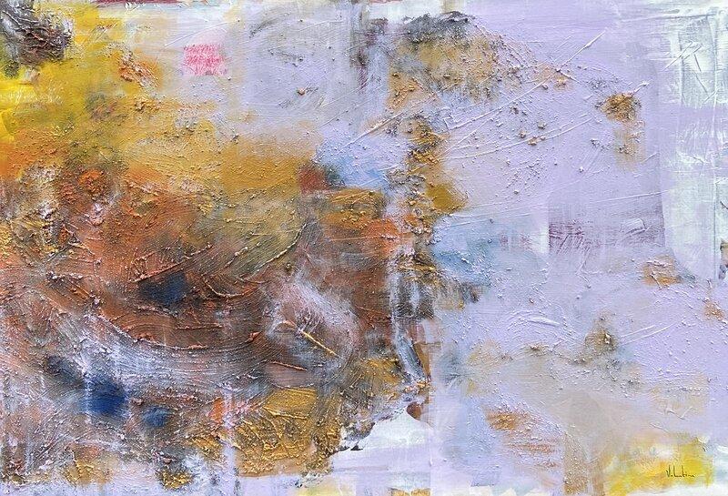 Akrylmålning NR.3, Valentina Campodonico