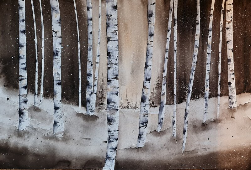 Akvarell Liberty, Pernilla Carlsson