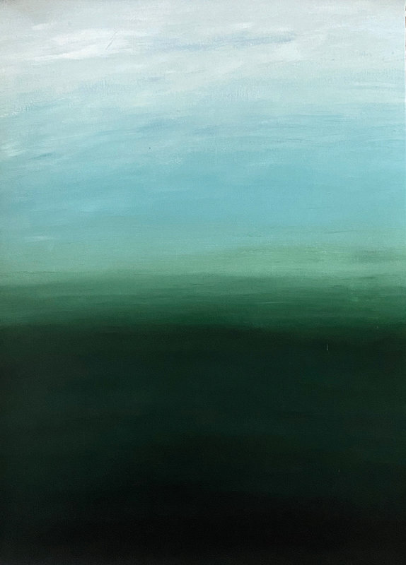 Akrylmålning Gradient - Ireland, Fredrika Du Rietz