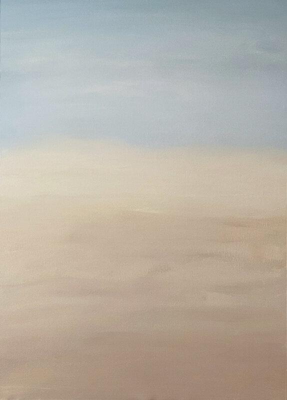 Akrylmålning Gradient - Sand, Fredrika Du Rietz