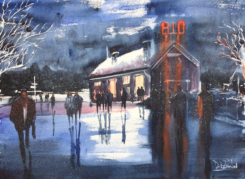Akvarell Bio i Pajala, Dalibor Eminefendic